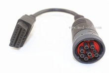 OBD2 Cable , Deutsch J1939 9Pin to OBD2 cable, 1ft/0.3m a