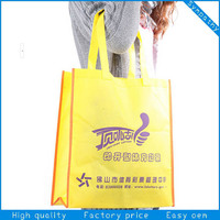 printed custom made striped shopping bags