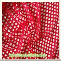 Knittted polyester jacquard fabric