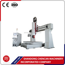 hot sale high quality 5axis cnc router for mould / 5 axis cnc machine