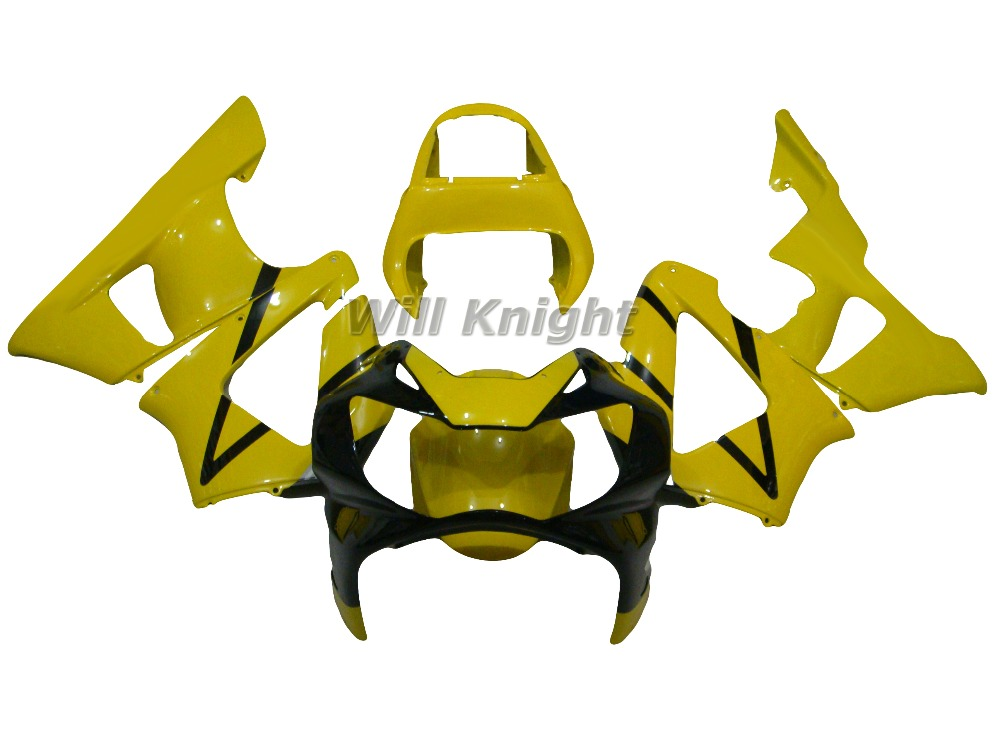 Yellow Body Fairings for CBR929 2000 2001 CBR900 RR 00 01