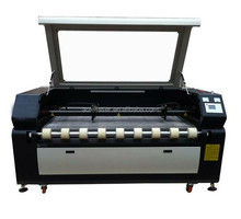 Laser cutting machine for embroidery applique