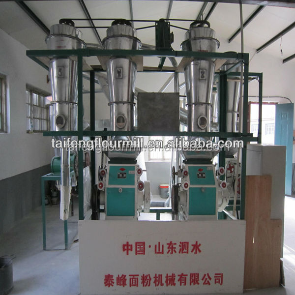 corn grits mill/maize flour equipment