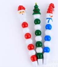 Novelty design lovely christmas ballpoint pen