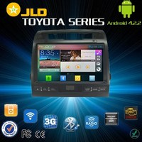 Android 4.2 car audio gps navigation system for toyota LAND CRUISER