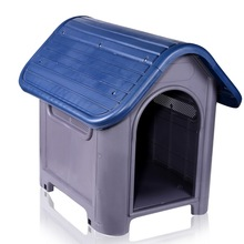 Pet Kennel Decorative Plastic Dog Home Indoor Outdoor Eco Friendly Dog House