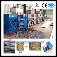 Quality warranty and best service scrap copper wire shredder for sale