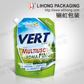 2016 Customized Printing Laundry Detergent Bag with Spout