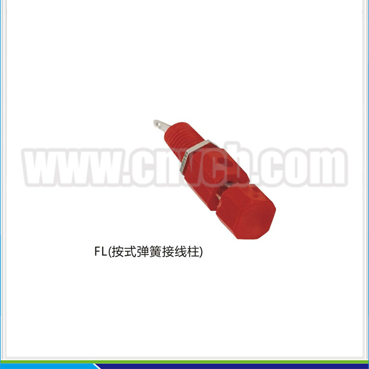 BP07 FL JS-999C Push speaker terminal binding post Red Push type binding post
