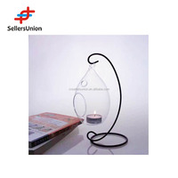 No 1 yiwu agent hanging glass ball candle holder hanging glass bubble tealight candle holder x-mas Valentine's day gift
