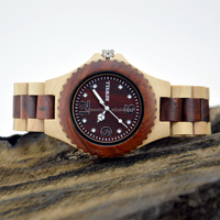 Natural Wood Watches/Wood Grain Watches Mode Uhr Wood Watch Dropshipping