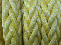 52 MM 8 Strand Polypropylene Polyester Mixed Mooring Rope