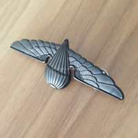 Gift items custom metal pilot wings pin badge