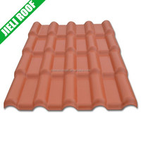 Residential house plastic spanish roof tile