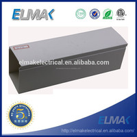 low price PVC made electric PVC / ABS plastic cable trunking made in china