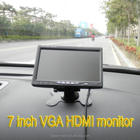 "7"" TFT Color LCD 2 Video Input Car Monitor car headrest monitors 7 inch car headrest monitor"