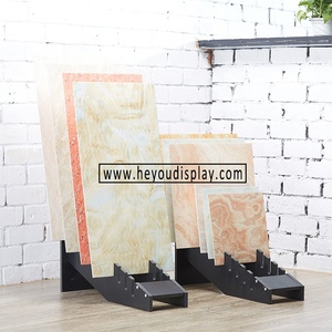 Sample Stone Marble slabs Ceramic Tile Display Stand Racks customize