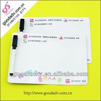 Custom weekly planner color magnetic writing board