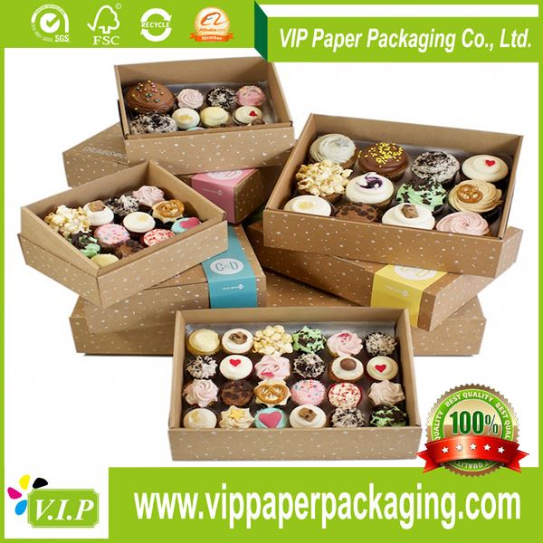 OEM accept customised cupcake boxes wholesale china, cheap cupcake boxes wholesale