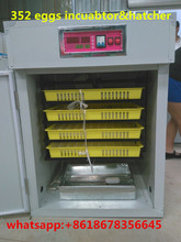 Fully automatic CE approved New type MJ-264 egg incubators hatcher for sale