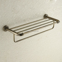 Bronze Bathroom Towel Rack Bath Towel Holder Towel Bar Bathroom Accessories Mental