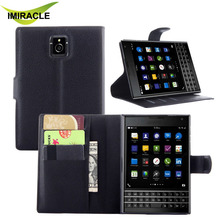 Leather Phone Case Flip Stand Wallet Cover For Blackberry Passport Case Accessories