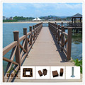 European style beatiful wpc wpc railing MADE IN CHINA handrail flooring and fence