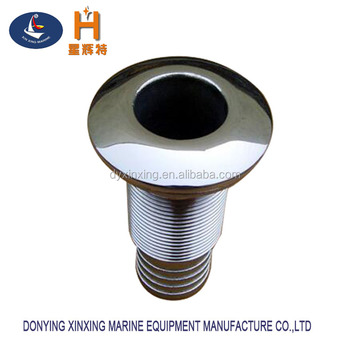 stainless steel through hull boat fittings