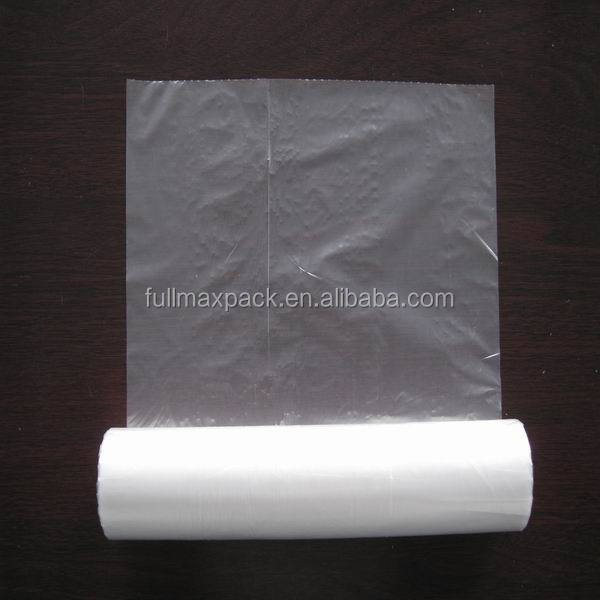 Low price HDPE transparent produce roll bag