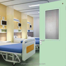cheap and high quality hospital Interior ward door from manufacturer