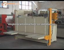 SDJ semi-auto stitcher corrugated carton box machine prices