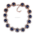 Very popular street jewlery, Western crystal collar necklace, collar statement necklace high quality