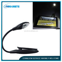 h0t010 led clip booklight reading light,rechargeable book light,led book lights for kids
