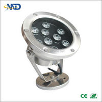 Design new arrival led underwater light rgb dmx