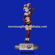 3D Hotsale Resin Sexy Cartoon Girl Figurine for Home Decor