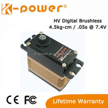K-power High Voltage High Speed Brushless Servo HBL830 68g/4.5kg/0.05s