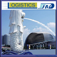 Cheap sea shipping rate to door service to Singapore