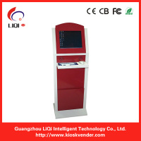 Internet Electronic touch kiosk metal keyboard