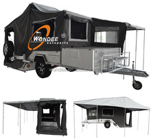 High Quality Rear Open Atv Camper Trailer