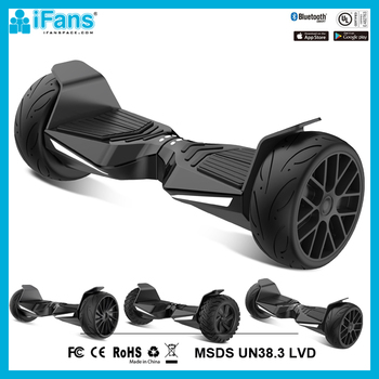All-terrain UL2272 certified strong dual motor 800W 8.5inch electric balancing Scooter 2 big wheels hoverboard 15km