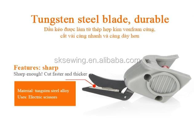 wholesale portable electric scissors for cutting garment cutter