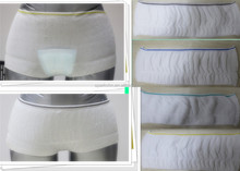 2014 plus size unisex disposable mesh panties/adult diaper incontinence underwear
