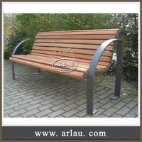 Arlau Wpc Cast Iron Garden Work Bench,Street Furniture Benches Outdoor Seating Manufacturer Street Benches