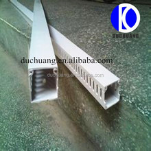 PVC Plastic Floor Electric Cable Duct