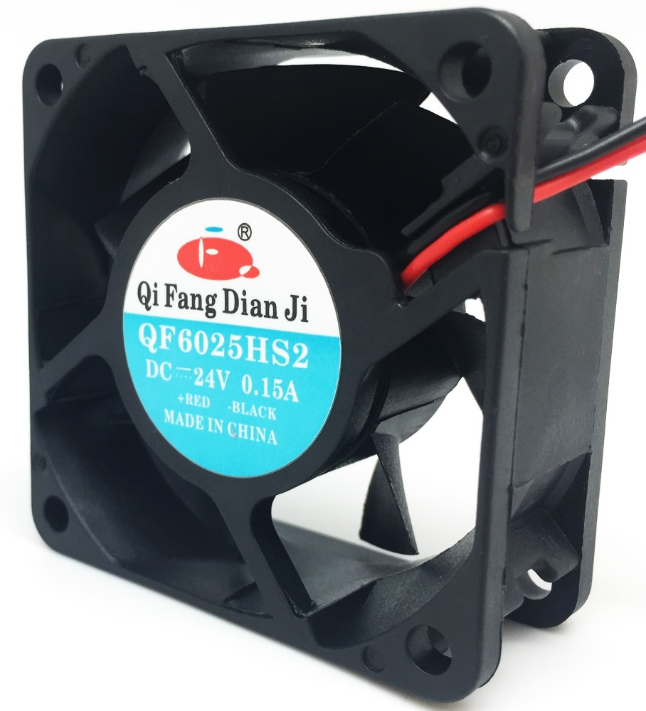 Qifang 60mm 6cm 6030 DC 12v 24v 3100RPM 60*60*20mm high CFM silent ip55 axial Fan