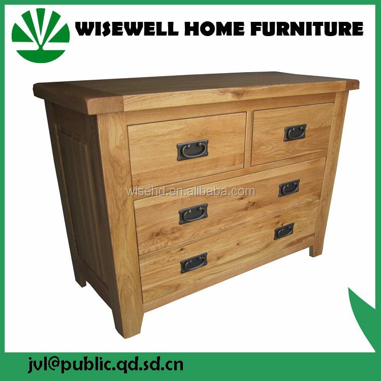(W-B-0037) living room cabinet wooden 2+3 drawer chest