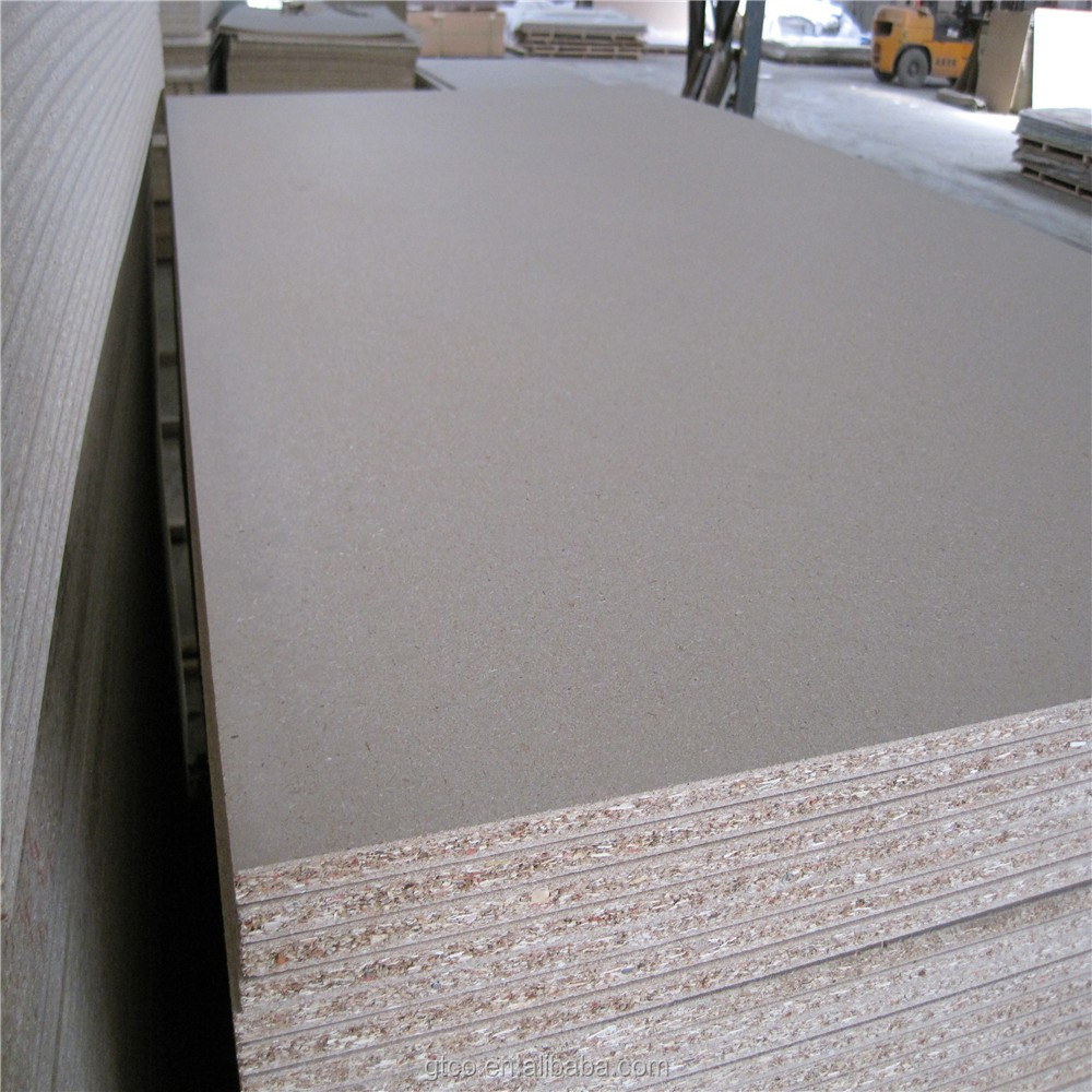 1220*2440*18MM fire rated water resistant e1 grade veneered particle board for kitchen cabinets