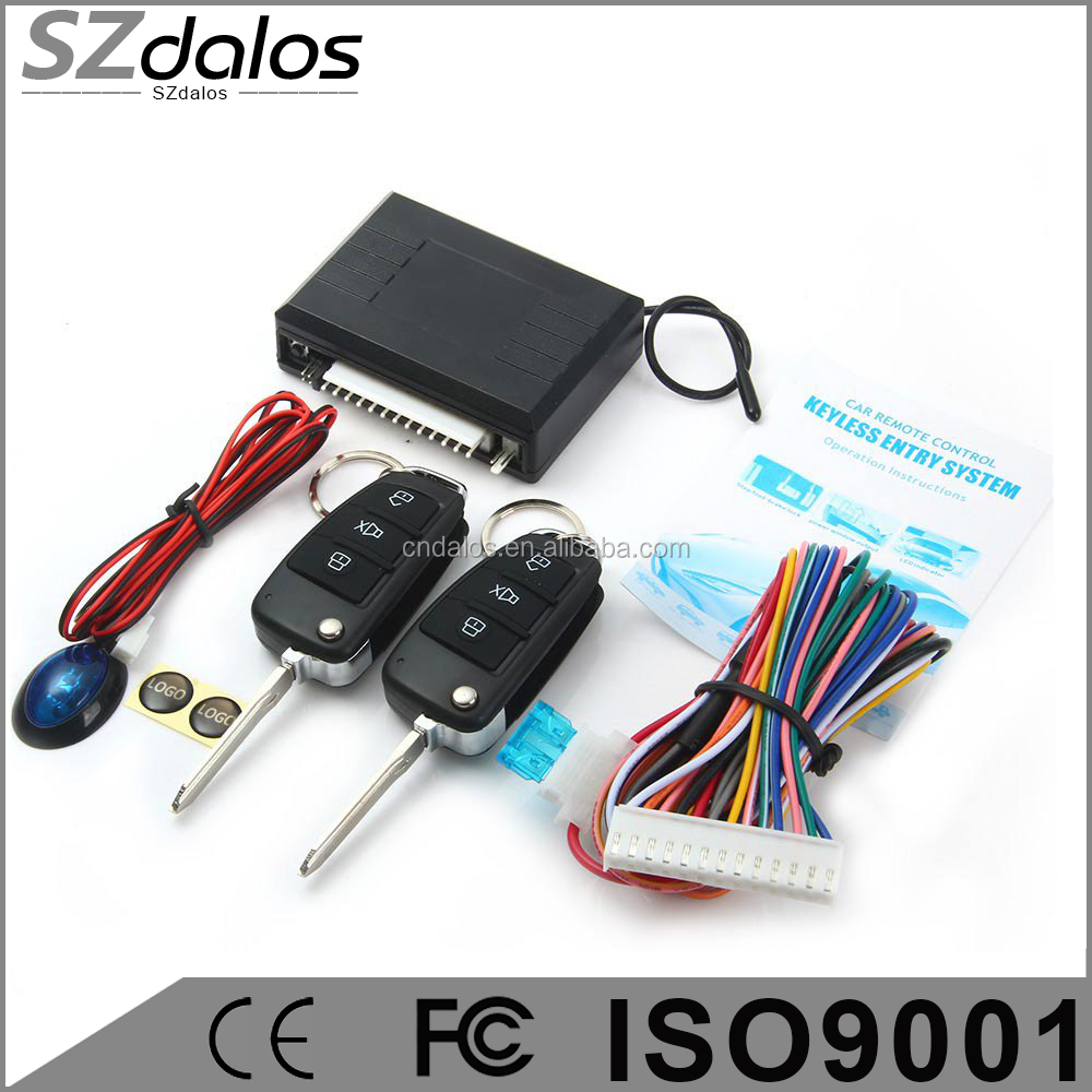 High quality keyless entry system installation for car, keyless entry systems shenzhen