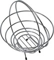Buy Chrome Wire Collapsible Metal Basket