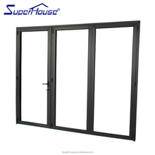 Australian standard double glass insulated folding door for room dividers